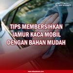 Membersihkan Jamur Mobil Dengan Bahan Mudah